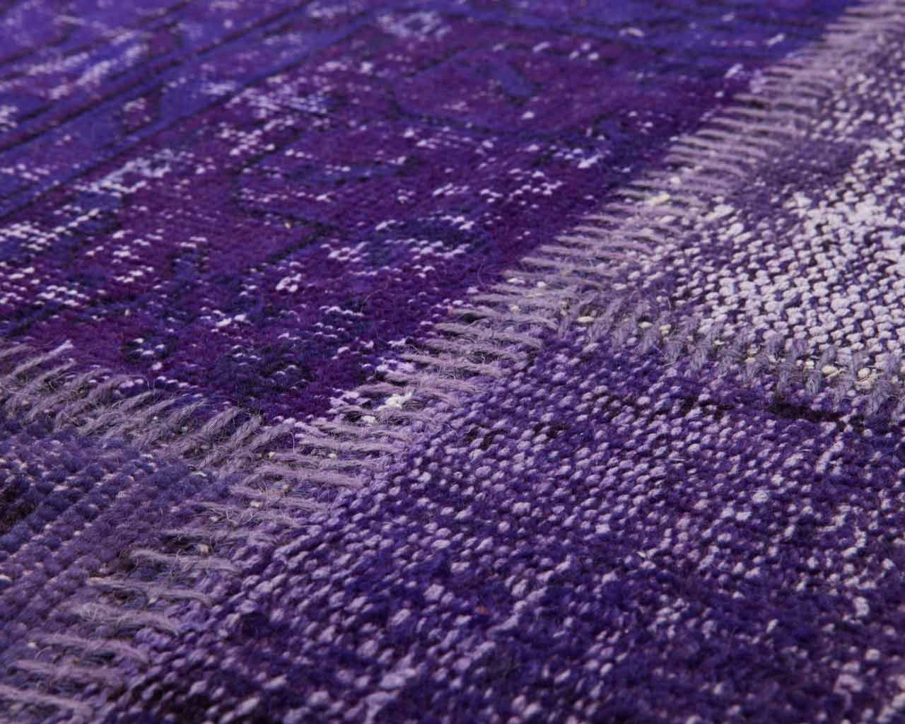 handmade purple colour carpet turkish