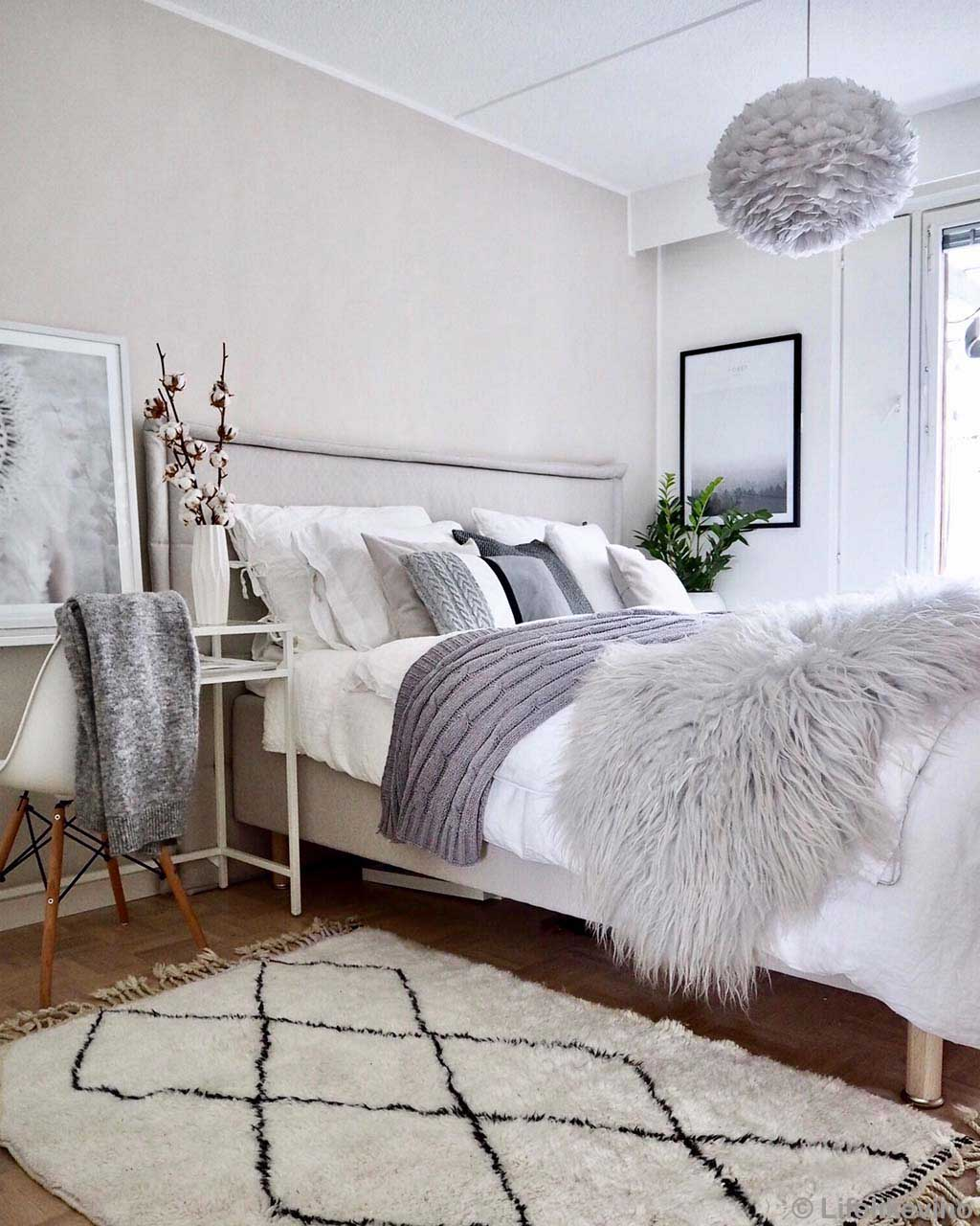 bed with assorted pillows fresh pearl hallway rugs