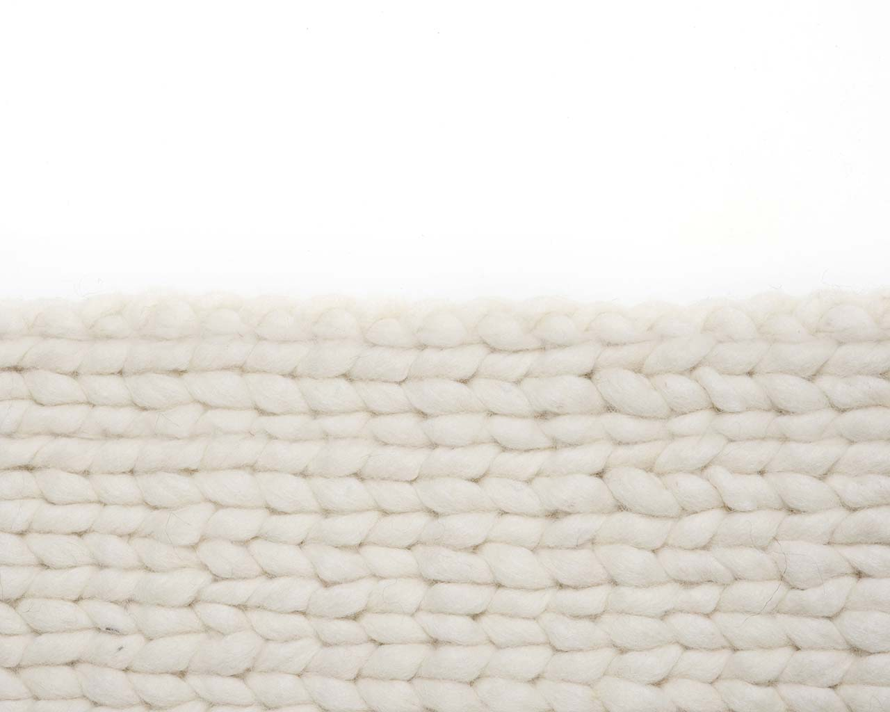 soft knitted ghost white wool oriental carpets