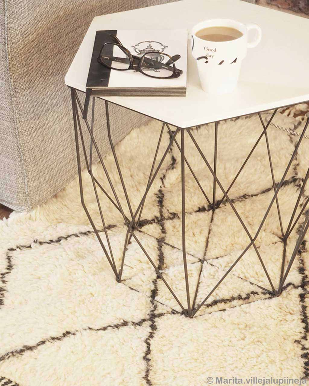 woolen tea and glasses on table african modern room rugs