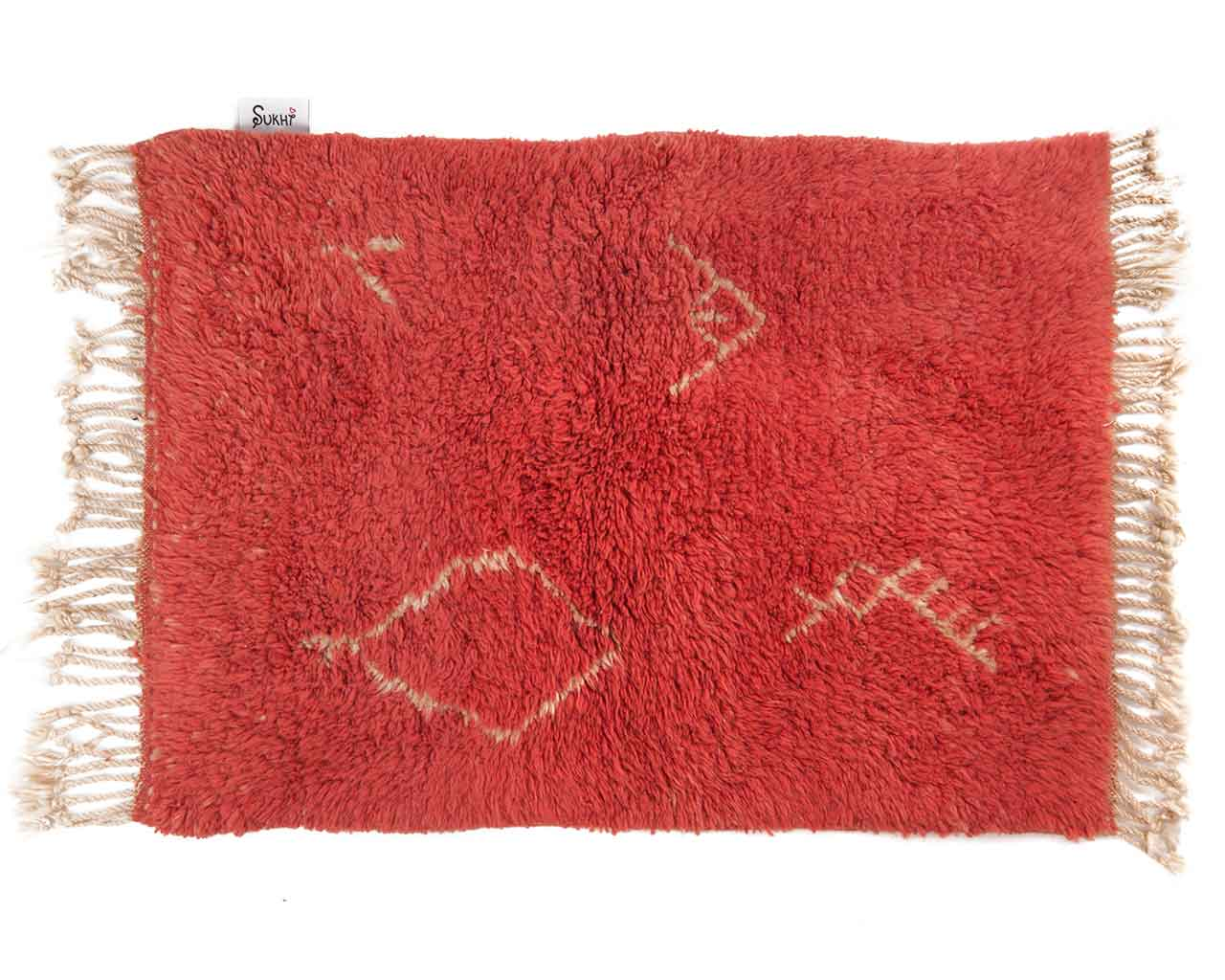 good karma yoga carpet red 1