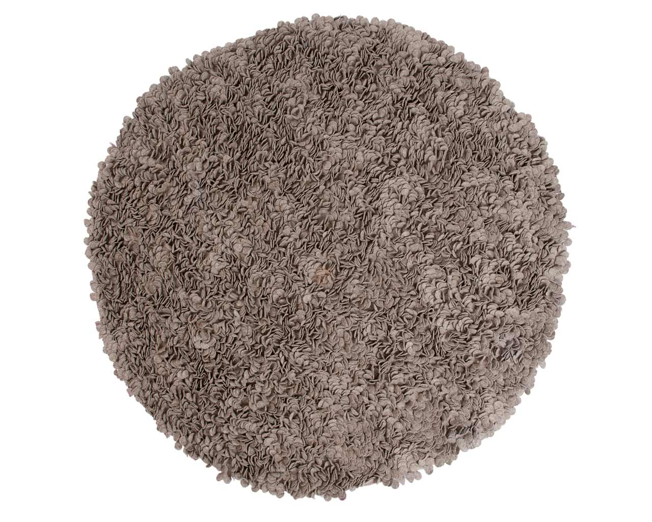 round custom carpet grey online