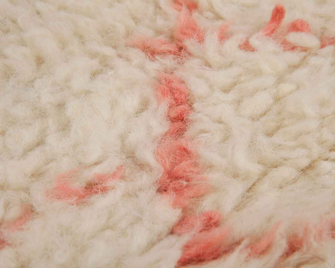 wool berber carpet pink colour 1